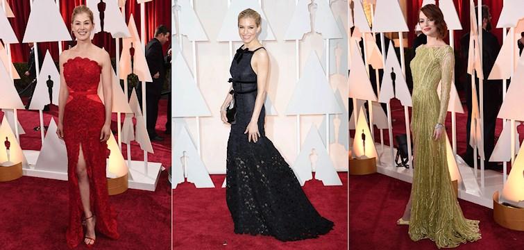 I natt gick årets Oscarsgala av stapeln i Hollywood. Världens celebriteter överglänste varandra i vackra kreationer.  Här är våra absoluta favoriter från den kändistäta galan! Vem är din favorit?