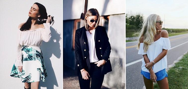 Ljusa färger, vita sneakers och håliga jeans. Följ med och inspireras denna vecka av våra Nouwares grymma outfits!