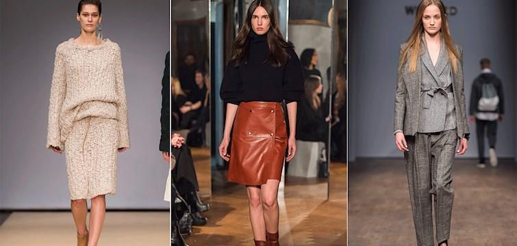 Stockholms modevecka är över för den här gången och våra svenska designers har överröst oss med fina kollektioner inför hösten 2015. Ta en titt på bilderna och säkra redan nu hur kommande höst ser ut rent modemässigt.