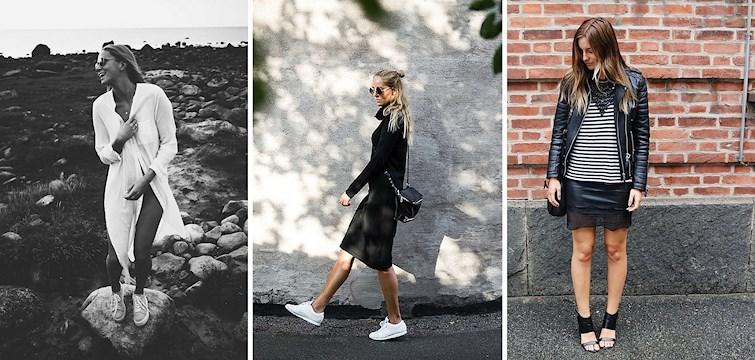 Nu har hösten kommit på riktigt vilket betyder kappor och stickade tröjor för våra Nouw bloggare! Kika in för att se veckans snyggaste outfits!