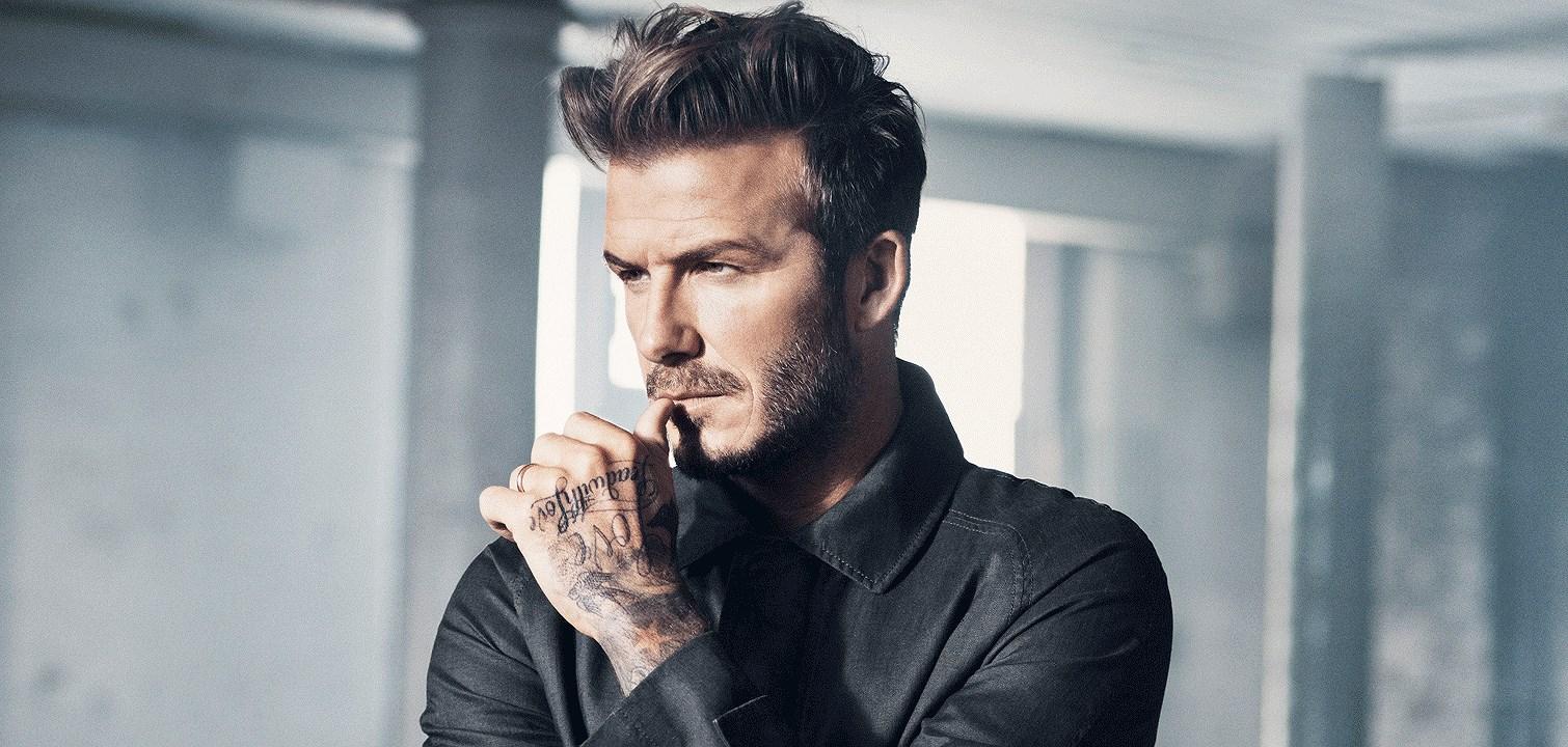 David Beckham för H&M i butik idag!