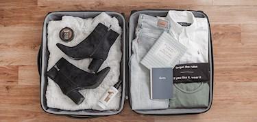 Så packar du smartast resväskan