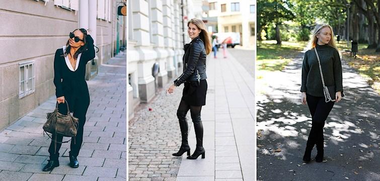 Kylan är här och våra bloggare klär sig i ankelhöga byxor, lackade skor och kappor i härliga material. Veckans Nouw outfits bjuder på det vi har längtat efter så länge, lite höstmode!