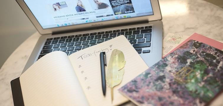 Idag delar vi med oss av de 5 bästa tipsen för att aldrig få en så kallad bloggtorka igen!