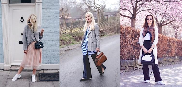 Vår, vår, vår! Om det är några som har gått all-in på snygga kappor, sneakers och solglasögon är det våra bloggare. In och inspireras av veckans Nouw - outfits!