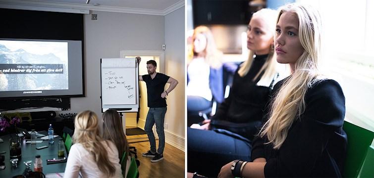 Igår välkomnade vi våra bloggare i Göteborg till en kväll tillsammans med Johannes Hansen. Han inspirerade oss till att vilja utvecklas mentalt genom hans träningsprogram. Kika in här för att läsa mer om kvällen!