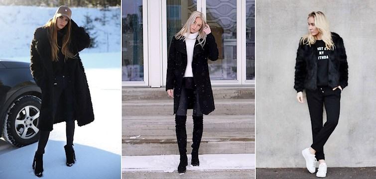 Mycket svart, långa och korta pälsar, sportigt och lårhöga stövlar. Så har det mestadels sett ut för våra Nouwbloggare denna veckan. Kika in för att se mer!