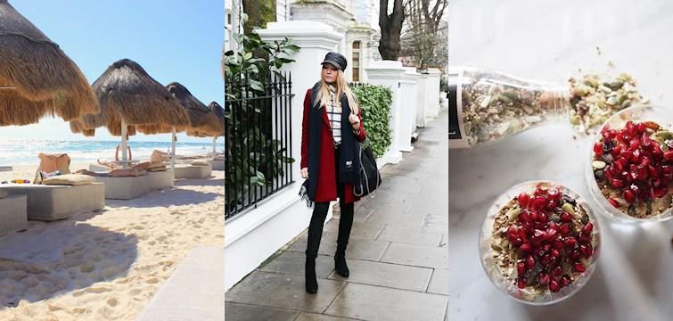 Första veckan på 2017 har passerat och våra bloggare skålade in det nya året vid allt ifrån en varm strand till snöiga fjäll. De har också unnat sig tid på spa och spenderat många timmar tittandes på serien Skam!