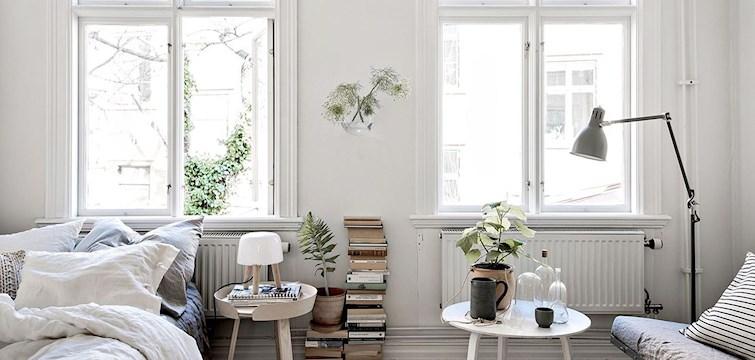 Sitter du precis som oss och inspireras på hemnet varje dag? Nu har vi äntligen hittat en lägenhet utöver det vanliga, som får att att vilja köpa den direkt... Kika in här och kolla på lägenheten!