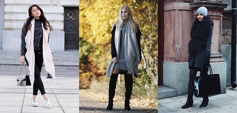 Kylan är här och veckans Nouware klär sig i trendiga höstplagg, lurviga jackor och stickade tröjor. Kika in och bli inspirerad!