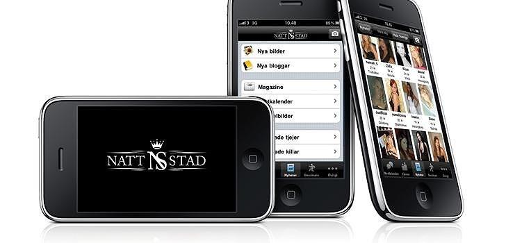 Nattstads app till iPhone, v2.5.1, släpptes i veckan
