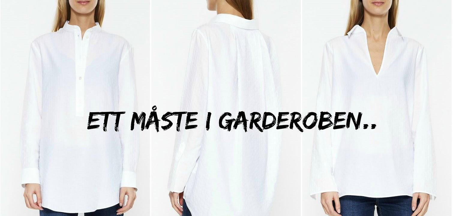 Nyckelplagget: Den vita skjortan