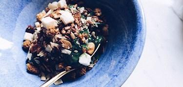 5 nyttiga frukostskålar för helgen