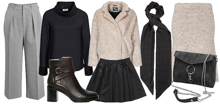 Fuskpäls, matchande set, culottebyxa och robusta skor med klack. Här är veckans 13 favoriter i butik.