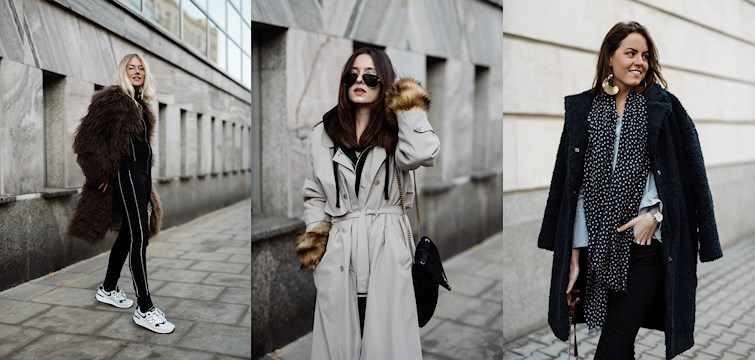 When having so many bloggers at one place, one simply has to take the opportunity to have an outfit photoshoot, aren't we right? Here we give you outfit inspiration from the bloggers, just in from the event in Warsaw!