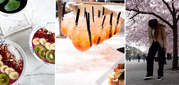 Denne uge har stået på lækre drinks, forkælelsesture til Sverige og misundelsesværdige mad billeder. Læs med her og få et indblik i bloggernes uge!