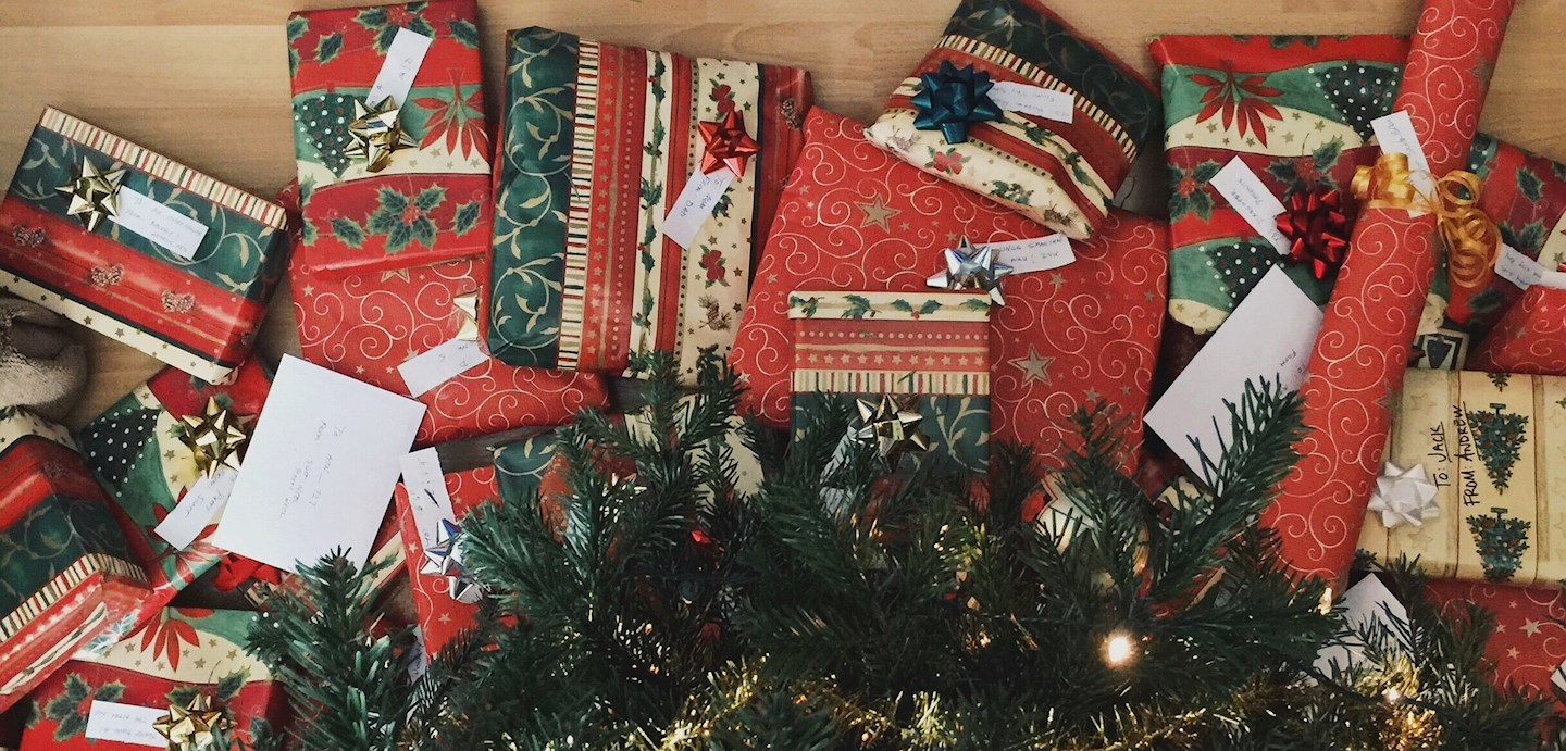 Third of advent: creative Christmas wrappings