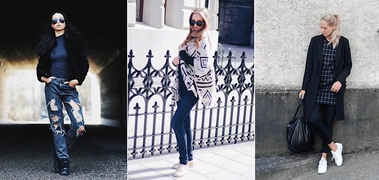 Magtröja, slitna jeans och kjolar i alla dess längder är lite av vad våra bloggare haft på sig under veckan. För att få lite stil inspiration, kika närmare på hur de stylar sina outfits.