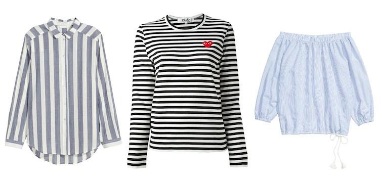 Randigt är inte bara klassiskt och stilrent utan nu även väldigt trendigt. Dessutom ett lättmatchat plagg som både går att använda till vardags men också lätt att klä upp med ett par klackar.