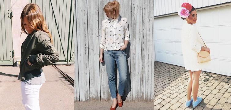 Blommor i håret, kryp på blusen och med spegelglas på solbrillorna. Ja, det är lite av vad våra bloggare haft på sig under veckan som gått. Kika in för att se ännu mer spännande outfits!