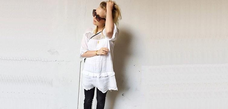Denne uges blogger er Amanda Bugge, der lige har fået nyt job som PR Koordinator! Hendes blog omhandler en god kombination af fashion og beauty med fine outfitbilleder, anbefalinger mm. Læs med her og hør bl.a. hvad Amandas bedste modetip er!
