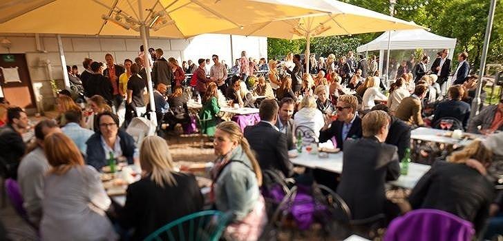 Nattstad var på plats på premiärfesten för Storköket i Göteborg