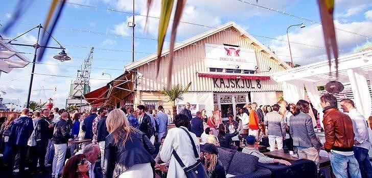 Under torsdagen var det Port du Soleils tur att ha premiärfest
