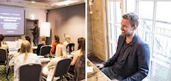 Norska bloggare på coaching i Oslo