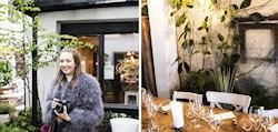 Nouw besöker smultronstället Kolonihagen i Oslo