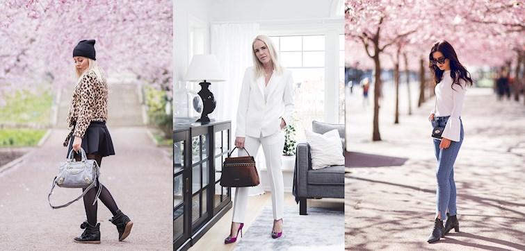 Veckans Nouw - outfits kantas av rosa detaljer i både omgivning och accessoarer, och framförallt har våra bloggare lyckats med fantastiska detaljer - klicka dig in och inspireras!