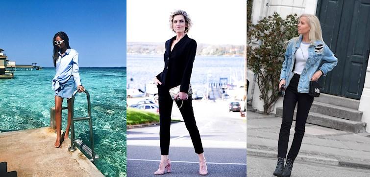 I denne uges outfits er det primært farven blå som skinner igennem samt fine tynde sommerkjoler udover et par bukser. Læs med her og bliv inspireret!