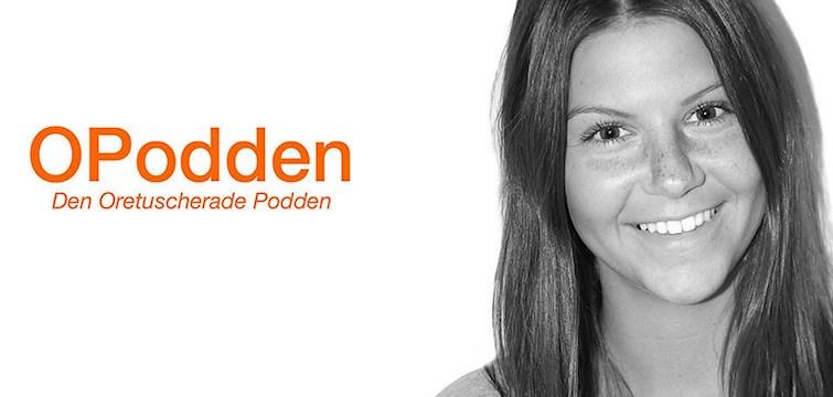 """Jennifer Kovacs som driver O-podden kan kamma hem titeln som """"Årets podcast"""" under Social Media Gala 2015."""