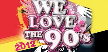 Vinn konsertbiljetter till We Love The 90s