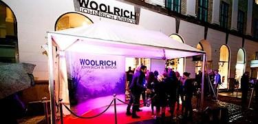 Invigning av Woolrich Store