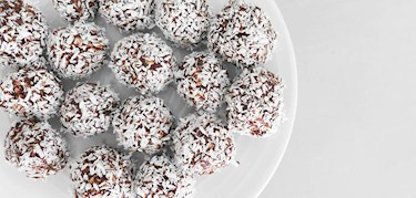 Raw food-bollar till lördagsmyset