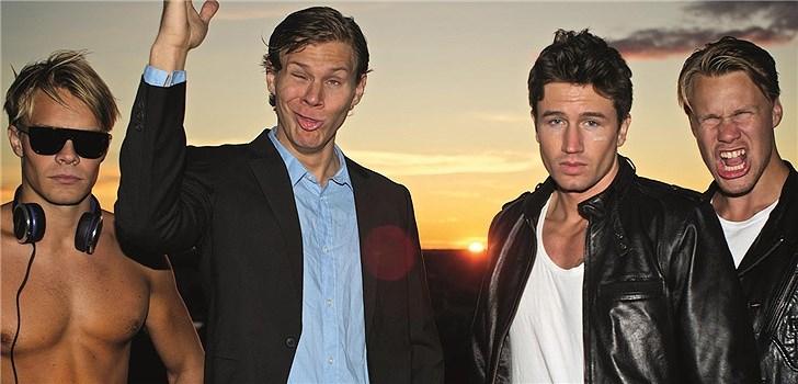 De Vet Du har beskrivits som en svensk motsvarighet till Lonely Island där stora hitlåtar kryddas med humor och vars videos sprids i sociala medier och bland bloggare. Nu på fredag kommer bandet till Park Lane i Göteborg.