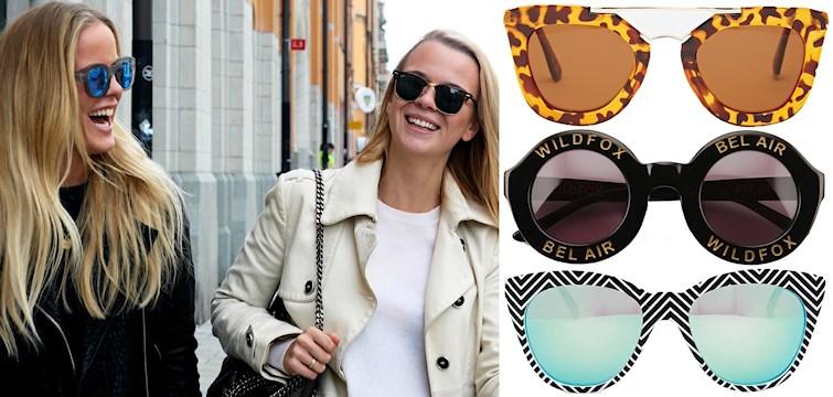 Här tipsar vi om de snyggaste solglasögonen ute just nu!