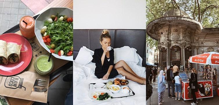 """I forrige uke fikk vi se at bloggerne våre spiste is, vandret i vakre byer og var på shoot for magasinet Det Nye. Se flere flotte bilder og bli inspirert av både norske og internasjonale """"Nouw'ere""""."""