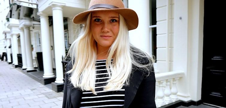 Hon är en riktig globetrotter, älskar fina väskor och bloggar om sitt fartfyllda liv i London. Veckans blogg här på Nouw är Elin Abrahamsson