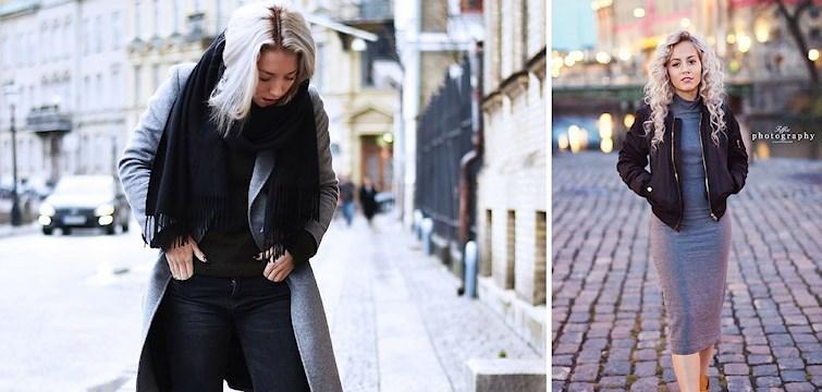 Varma jackor, tjocka halsdukar och mysiga polotröjor. Kika in här för att se vad några av våra Nouw bloggare haft på sig i veckan!