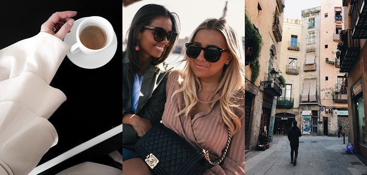 Last week our international bloggers took a trip to Dubai & Barcelona, shared recipes on how to make one-pot pasta and dressed up for Friday. They wrote down their thoughts on taking time off and showed us a breathtaking LA sunset.