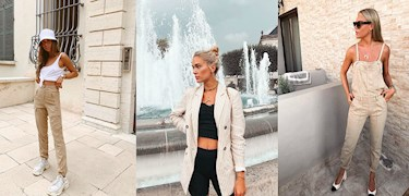 Insta Outfits: Beige Vibes