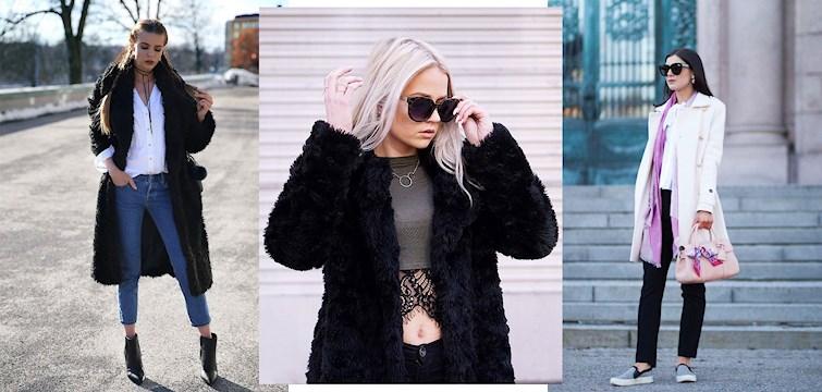 Det märks på våra bloggares klädval att våren börjar smyga sig fram. Ljusa kappor, blå denim och strumplösa sneakers. Här är veckans mest inspirerande outfits.