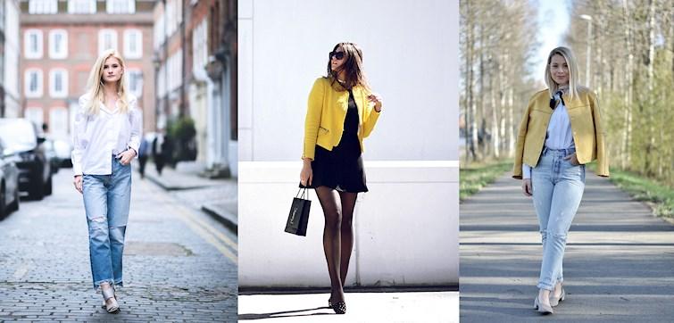 Ljusa färger, snygga kombinationer och våriga accessoarer beskriver veckans outfits! Klicka dig in och få din dos av fredagsinspiration!