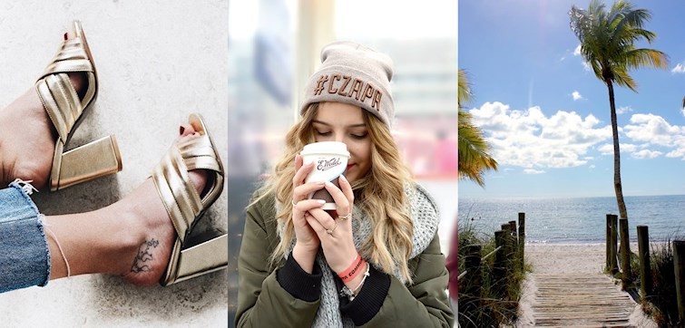 Last week our international bloggers celebrated Valentine's Day, almost went ice-skating, felt the Spring sun of their faces, chilled with Netflix & sushi and went a few shades darker. They also found a piece of Scandinavia in sunny LA.