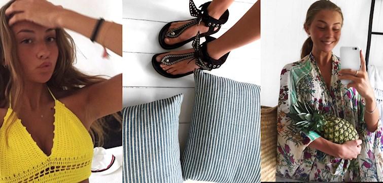 Søde Anna fortæller om hendes favorit outfits, hvilken farve hun ser som sommerens trend og hvad hun ikke kunne leve uden i hendes garderobe. Læs med her og bliv inspireret.