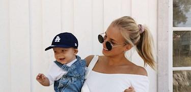 """Lovisa Wallin: """"Jag hittade mig själv mer efter att jag blev mamma"""""""