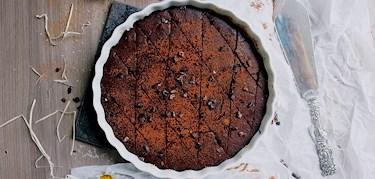 Vegansk & glutenfri choklad brownie