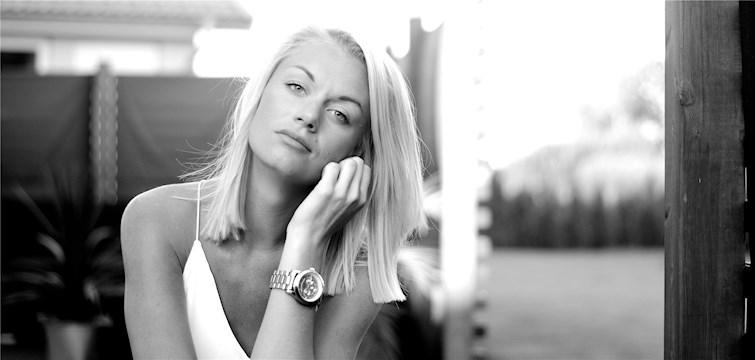 Hon är extremt flygrädd, älskar att träna och beskriver sin blogg som en godispåse där man kan hitta både det ena och det andra. Tjejen bakom Veckans blogg här på Nattstad är 21-åriga Amanda från Göteborg.