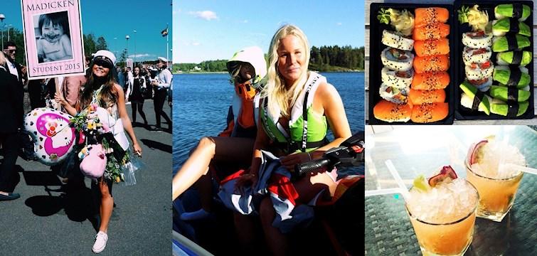 Gröna Lund, studentfirande och fest på västkusten är bara några av de saker våra bloggare haft för sig i veckan. Häng med och få lite måndagspepp!